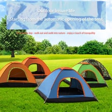 1~2 Person Automatic Outdoor Family Camping Tent Easy Open Ultralight Tents