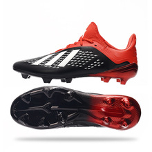 2020 Non-slip Wear-resistant Luminous Turf Football Shoes Male Spikes FG Training Broken Nail Training Soccer Cleats