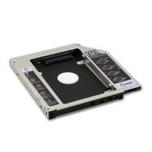 2019 SATA 2nd HDD HD Hard Drive Caddy Case for 9.5mm Universal Laptop CD / DVD-ROM