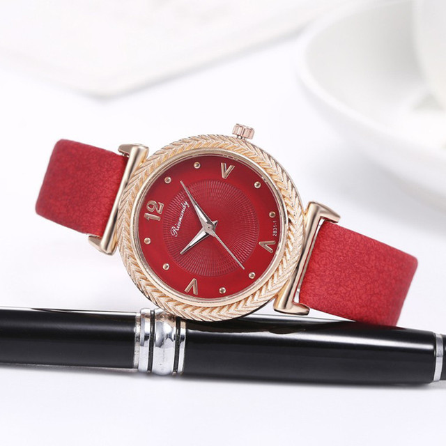 Fashion Women Casual Watch Luxury Analog Quartz Crystal Vintage Wristwatch Fashion Casual Female Wristwatch Luxury 2020 Dress