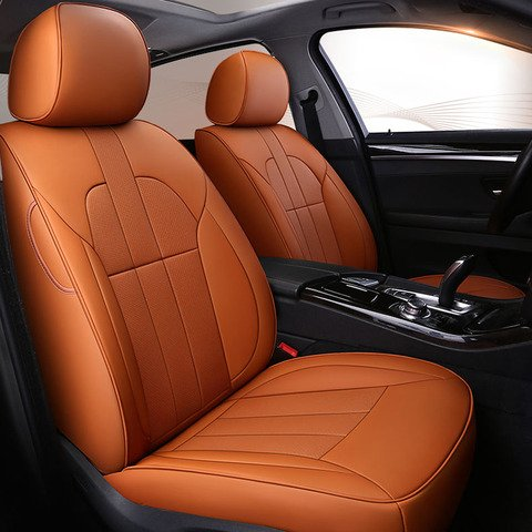 Custom Only 2 Pc Front Seat Cowhide, Cowhide Car Seat