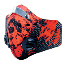 маска Air Pollution Winter Mouth Face Mask Anti Dust n99 fashion Printed custom wholesale sport breathing carbon bicycle Mask