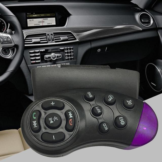 New Type Car DVD Steering Wheel Remote Control Car MP3 Dedicated Remote Control Easy To Install Car Accessories