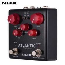 NUX Atlantic Guita Effect Pedal Reverb Delay Multi Effects 3 Delay Plate Reverb Shimmer Effect Stereo Sound Amp для гитары NDR-5