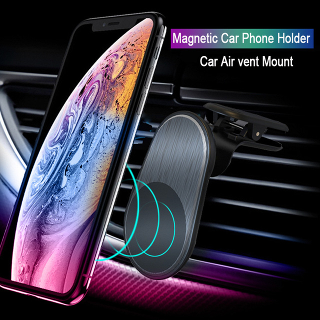 Universal Magnetic Car Phone Holder For iPhone Xiaomi Huawei GPS Phone in Car Air vent Mount Stand Magnet Mobile Phone Support