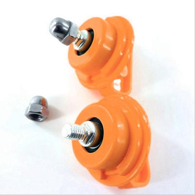 Stainless Steel Bearing Shaft Nut for All Square Hole Running Wheel Hamster Toy