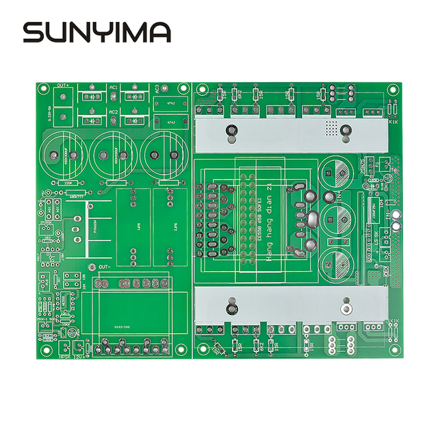 SUNYIMA1PC  Pure Sine Wave Inverter Empty Board Boost Front And Rear Grade Integrated Amorphous Bare PCB Board For DIY
