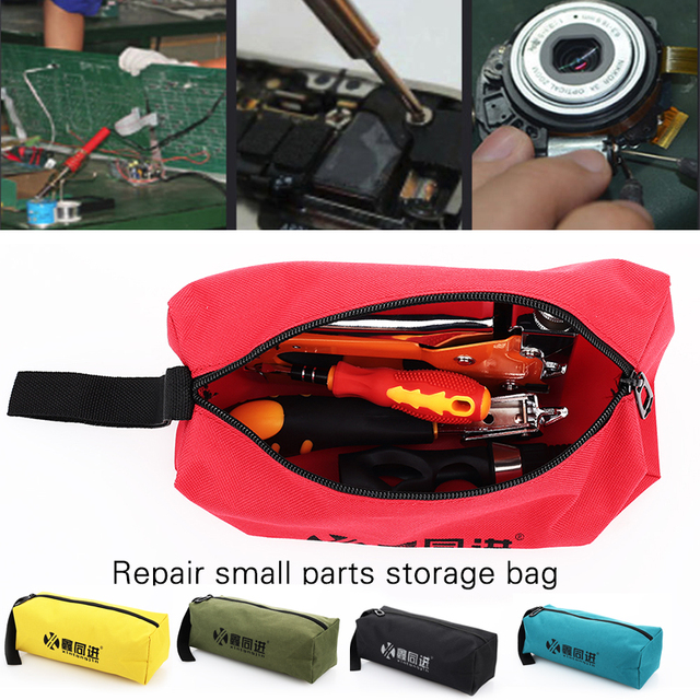 Portable Multifunction Bag Red Yellow Blue Color Military Green Black Repair Kits Waterproof Handbag Hardware Wrench Hydropower