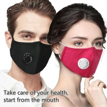 PM2.5 Anti Pollution Mask Dust Respirator Washable Reusable Masks Cotton Unisex Mouth Muffle for Allergy/Asthma/Travel/ Cycling