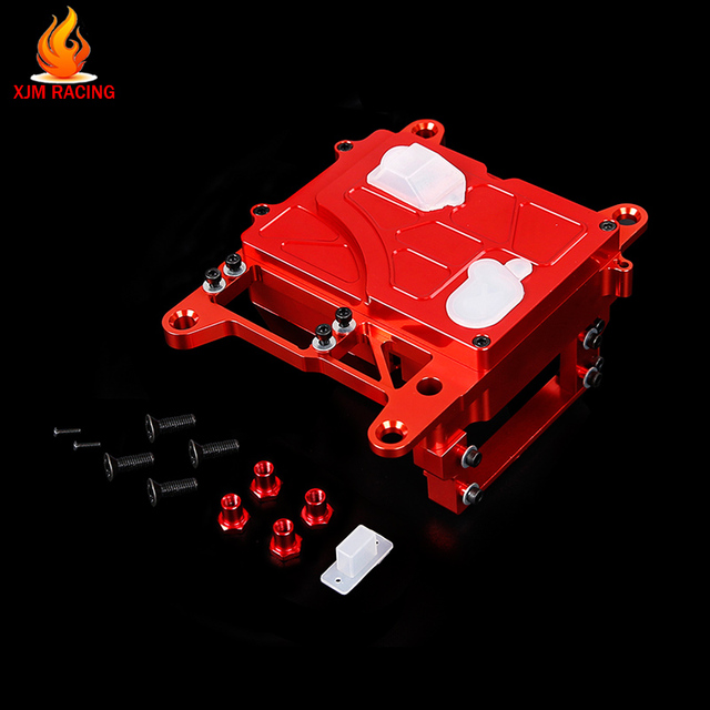 CNC Radio Box Set for 1/5 Hpi Rofun Baha Rovan Km Mcd Gtb Racing Baja 5B 5t 5sc Ss Truck Rc Car Racing Toys Parts
