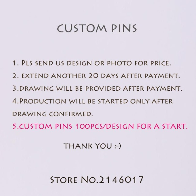 Factory Custom Enamel Pins 100pcs/Design for a Start Customized Lapel Pin and Brooch Metal Badge Crafts Gift