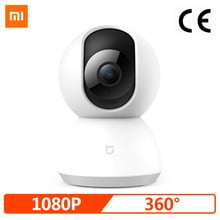 Xiaomi Mijia Smart Camera,Smart Webcam 1080P WiFi Pan-tilt Night Vision 360 Angle Video Camera Baby Monitor Home Security Camera