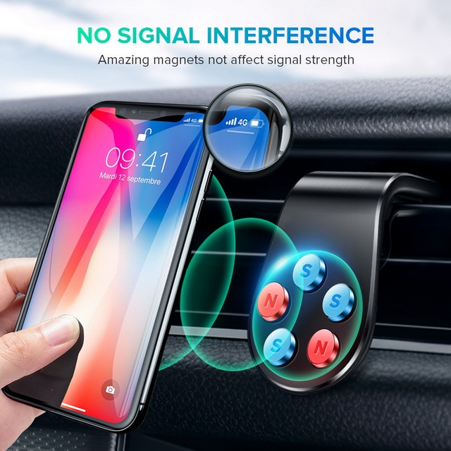 Magnetic For IPhone Huawei Samsung Xiaomi Mobile Phone Car  Car Phone Holder Air Vent Mount Stand in Car GPS Mobile Phone Holder