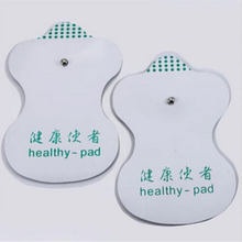 Massage 2 Pcs/ 1 Pair White Electrode Pads For Tens Acupuncture Digital Therapy Machine Massager Tools Factory Price