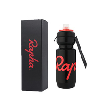 RAPHA Pink Water Bottle with the Rapha Logo