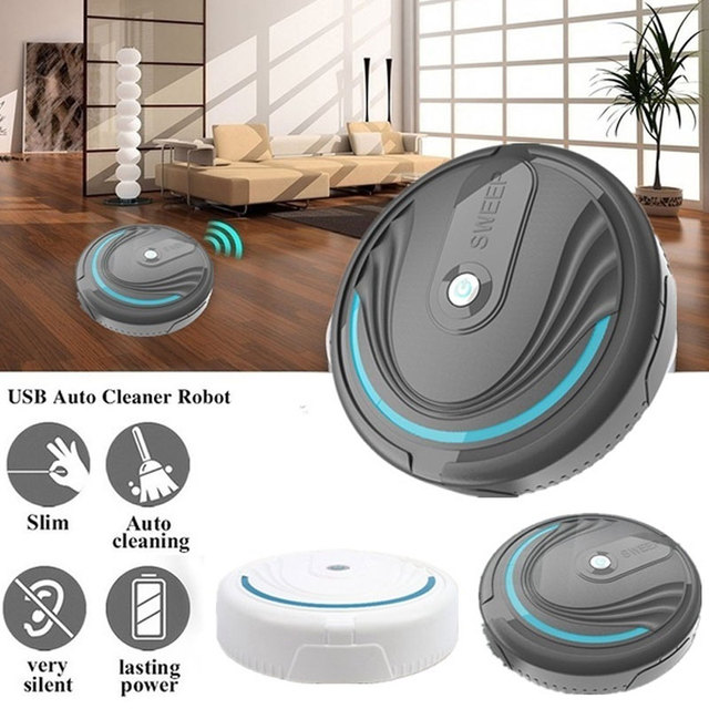 Auto Mopping Robot Auto Wiping Robot Auto Cleaning Robot Quiet Premium Automatic Rechargeable Floor Cleaner Hair Sweeper