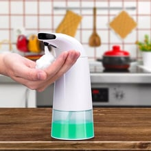 Intelligent Liquid Soap Dispenser Automatic Bathroom Kitchen Contactless Induction Foam Infrared Sensor Hand Soap Washing Device