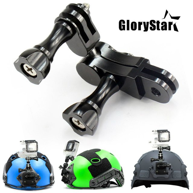 Universal Aluminum Ball Joints Set Mount Adapter for Gopro Hero 876 5 4 3 Session OSMO DJI SJ MAX Xiaomi yi Sport Action Camera