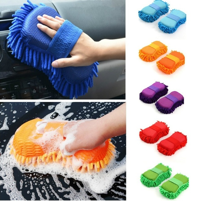 Car Motorcycle Cleaning Care Products Ultrafine Fiber Light Economical Practical Random Color Delivery Car Wash Dusting Brush