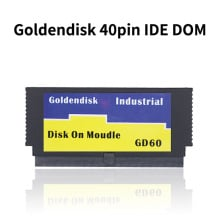 Goldendisk 40pin IDE DOM 4GB SSD диск на модуле PATA 40PIN Встроенная промышленная система Загрузочная карта Внутренняя до 32GB