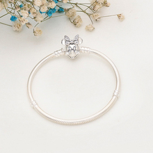 Free Shipping Authentic 925 Sterling Silver  Bracelet Fit Charms Bracelets For Women DIY Jewelry