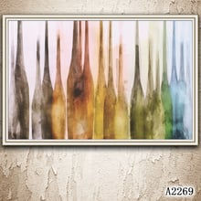 Abstract Oil Painting Print on Canvas Modern Abstract Landscape Canvas Art Print Canvas Painting Wall Art Picture for HomeDecor