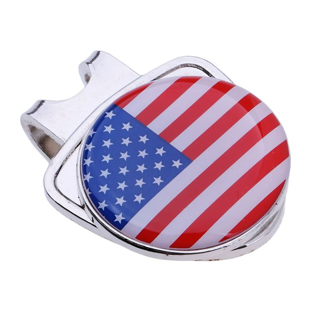 High Quality Ball Marker Golf Hat Clip Clamp On Golf Hat Cap Visor Accessories