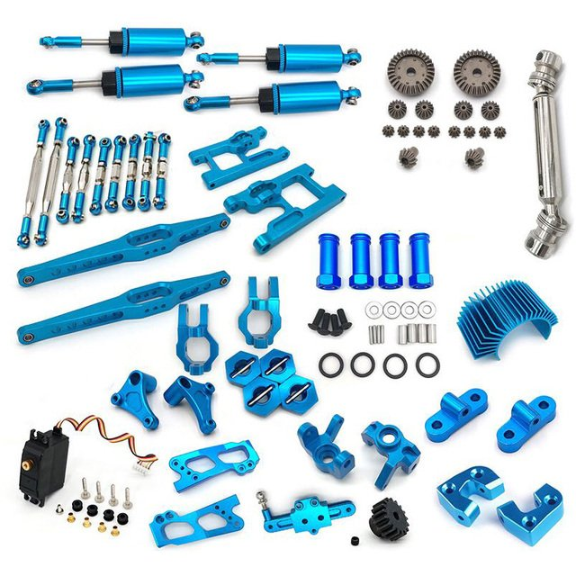 12428 12423 FY03 Upgrade Accessories Kit for Feiyue FY03 WLtoys 12428 12423 1/12 RC Buggy Car Parts