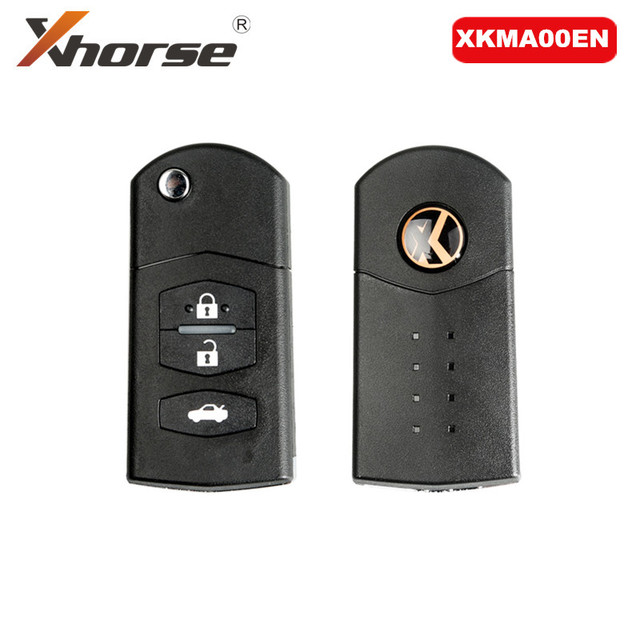 Xhorse XKMA00EN Universal Remote Key Fob 3 Buttons for Mazda Type for VVDI Key Tool (English Version)