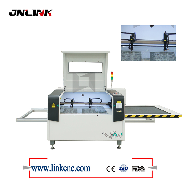 1390 90W 100W Acrylic Wood CO2 Laser Cutting And Engraving Machine