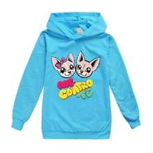 2019 Newest me contro te kids Clothing Hoodies Girls Spring Autumn Sweater Long Sleeve Outwear Baby Clothes jacket children coat