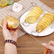 Popular Household Potato Spiral Cutter Cucumber Slicer Vegetable Spiralizer Spiral Potato Cutter Slicer Kitchen Accessories
