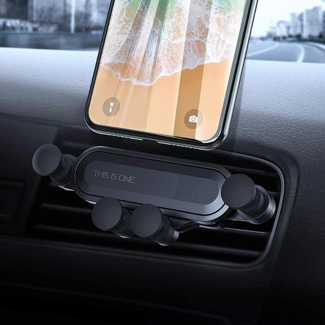 Gravity Car Holder For Phone in Car Air Vent Clip Mount No Magnetic Mobile Phone Holder Cell Stand Support For iPhone Huawei P20