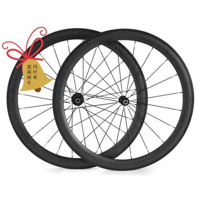 free shipping carbon wheels road clincher tubular 50mm bike wheels carbon wheelset 700c carbon road bike wheels 23mm 25mm width