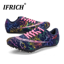 Spikes Running Shoes for Men Women Kids Racing Sneakers Track And Field Shoes Lightweight Spikes Trainers Boys Girls