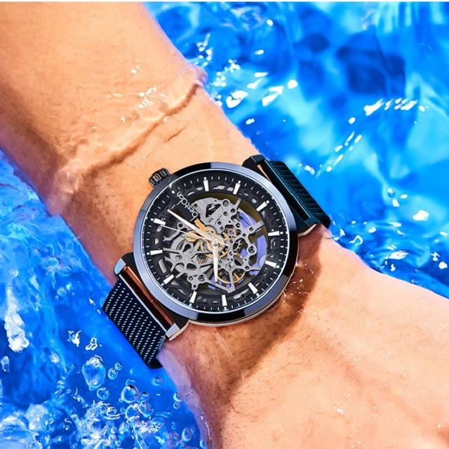 Skeleton Watch 2020 New Sport Mechanical Watch Luxury Watch Mens Watches Top Brand Montre Homme Clock Men Automatic Watch