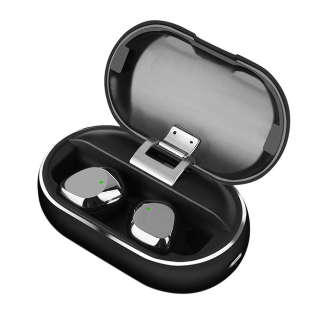 X26 Tws Bluetooth 5.0 True Wireless Earbuds Smart Waterproof Stereo Hifi Earphone With Charging Case For Iphone