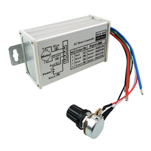 Stepless Electric Regulator Convenient DC Motor Speed Controller PWM Adjustable Variable Voltage Replacement Stable Protection