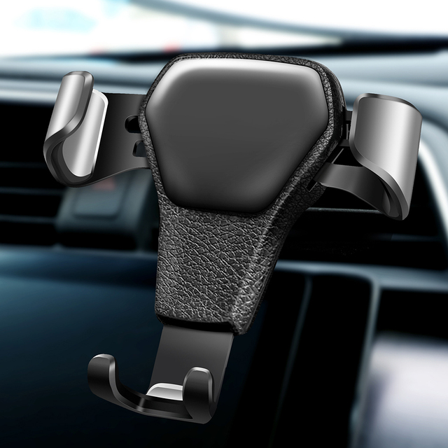 Lvtl Gravity Car Holder For Phone in Car Air Vent Clip Mount No Magnetic Mobile Phone Holder Cell Stand Support For iPhone X 7