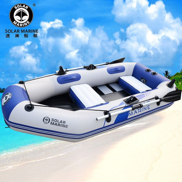 3 person 2.3m length rowing boats professional inflatables boat fishing inflatable laminated wear resistant boat