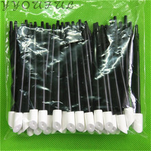 100X Solvent Cleaning Swabs For Roland Mimaki Mutoh Epson Format InkJet Printer