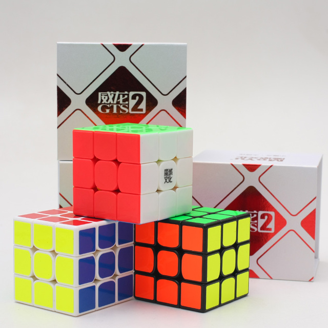 MoYu Weilong GTS V2 M 3x3x3 Speed Cube Professional Puzzle Toys Weilong GTS2 Magnetic Magic Cube for competition