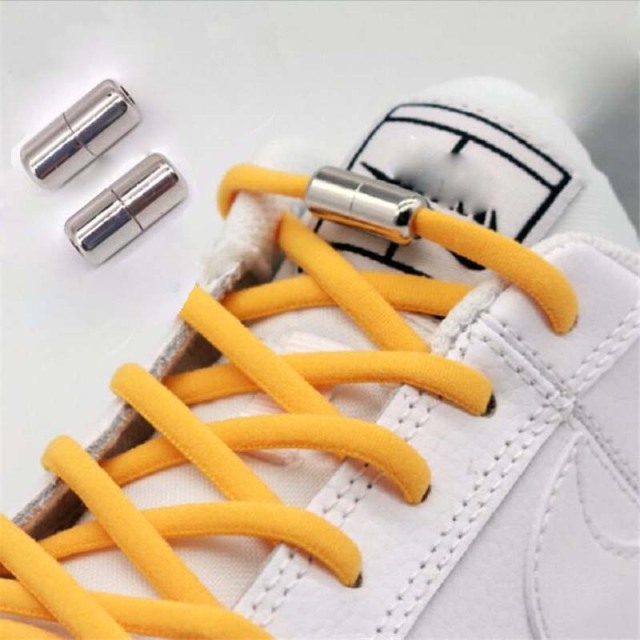 New Semicircle Shoelaces Sneakers No Tie Shoelace Quick Elastic Locking Shoe laces Kids Adult Women Men Shoes lace Strings