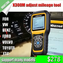 OBDSTAR X300M Odometer Adjustment for Benz VW TOYOTA Mileage Correction Tool X300 M for Fiat/Volvo and MQB