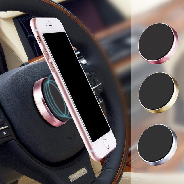 #H40 Universal Magnetic Car Phone Holder Stand in Car For iPhone X Samsung Magnet Air Vent Mount Cell Mobile Phone Support GPS