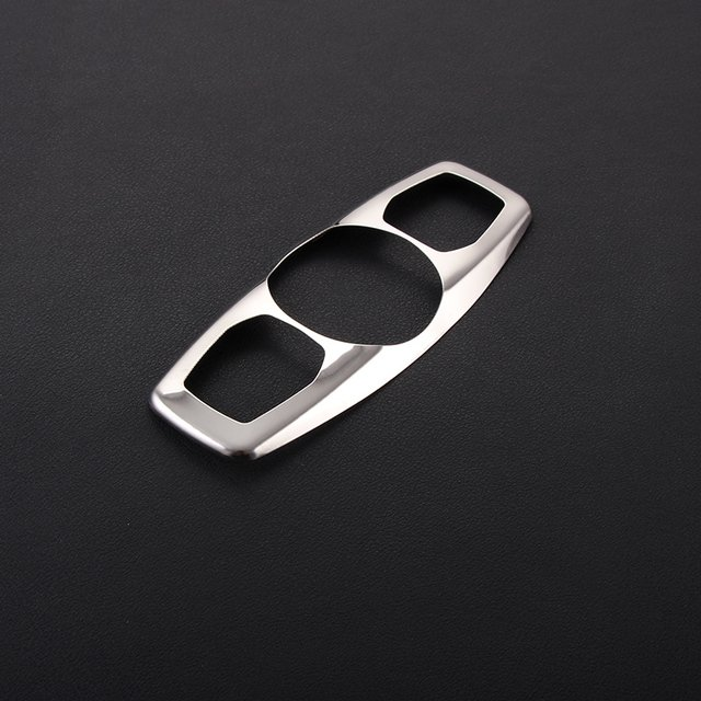 High Quality Stainless steel For Ford Focus 3 4 MK3 MK4 Kuga 2012-2015 Mondeo front reading Lamp decoration circle cover