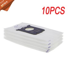 10pcs/lot Vacuum Cleaner Bags S-Bag Dust Bag Accessories for Philips Tornado Vacuum Cleaner Dust Bags