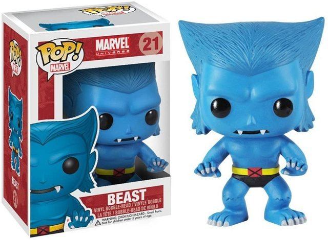 Funko pop Official Marvel: Beast Vinyl Action Figure Collectible Model Toy with Original Box
