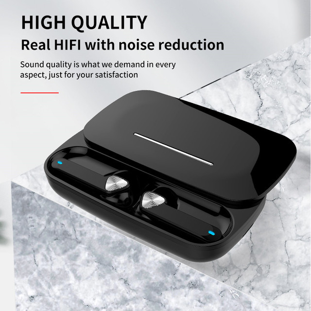 new tws wireless headphones bluetooth earphone 5.0 sport earbuds headset with charging box audifonos bass sound pk airdots pro 2