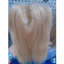 "18inch Color blonde 613# Silk Base Closure Straight (5""*5"") 100% Human Hair Products Lace Closure Hair Smooth, Free shipping"